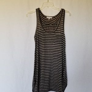Mystree striped tank top size small.